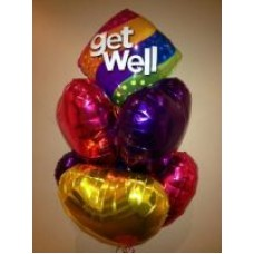 Get Well and 6 Foil Hearts on SPECIAL, now $60