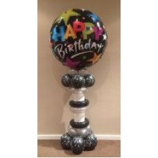 Star Accent Happy Birthday Pedestal usually $90, now on SPECIAL for $60