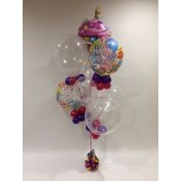 Birthday, Bubbles & Cake $110
