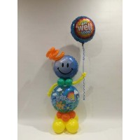 Get Well Deco Bubble Boy $88