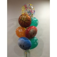 21st Bubble, Basketball, Smiles & Prints $95