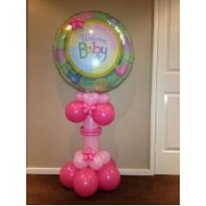 Welcome Baby Pedestal on SPECIAL, $60