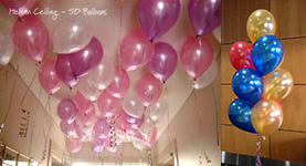 helium ceiling 50 balloon package