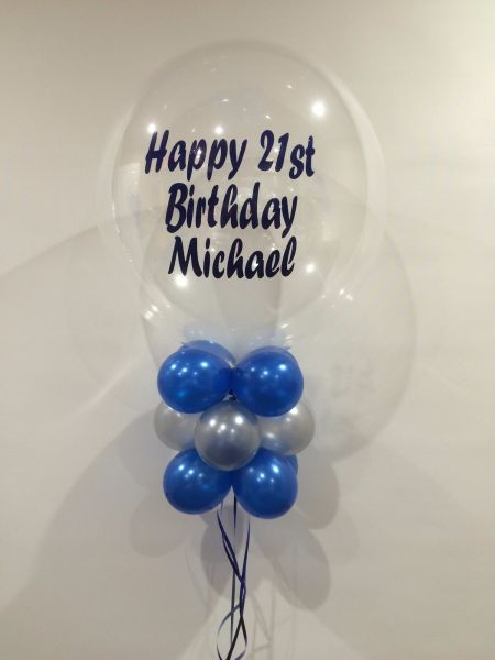 Happy 21st Birthday Michael 55 Balloon Brilliance