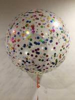 3 Foot Multicoloured Confetti $55