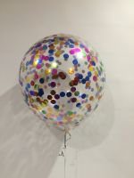 "17"" Multicoloured Confetti $24"