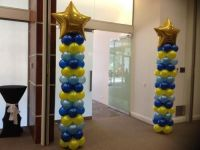 Marist Columns with Large Foil Stars $100 each