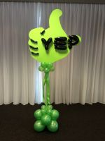 A balloon sculpture
