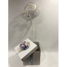 Baby Shower Deco Bubble Balloon in a Box