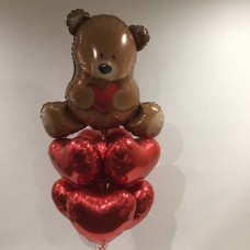 Beary Many Hearts