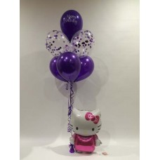 Hello Kitty Airwalker and Confetti Bouquet