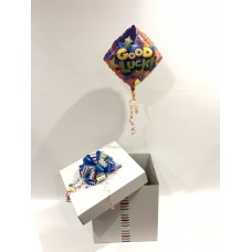Good Luck Foil Birthday Balloon in a Box