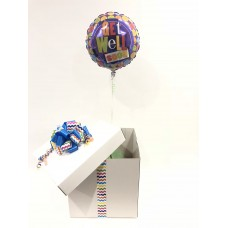 Get Well Polka Dot Balloon in a Box