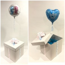 Gender Reveal Balloon in a Box