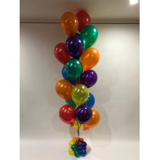 21 Colourful Latex Balloons