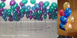 helium ceiling 100 balloon package