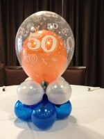 50th Table Topper $16.50