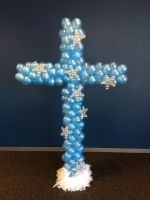 Azure Cross With Star Accents $95