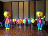 Clowns $125 each, Balloon Buddies $4.50 each