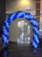 2 Colour Arch With Fairy Lights $325