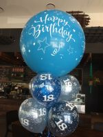 Happy Birthday 3 Foot with 8 Printed Latex $90