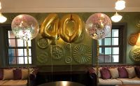 $37 per Number & $55 per 3 Foot Confetti Balloon