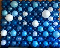 Blue Bubble Wall $500