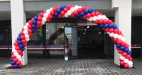 Red, White & Blue Outdoor Arch $375