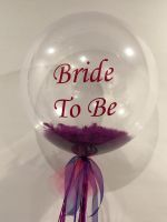 Bride To Be, Feathers & Garland $70