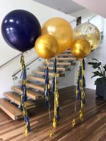 3 Foot With Tassels $70, Orbs With Tassels $45, Confetti with Tassels $85