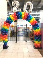 Rainbow Arch (Rows of Colour) $300 & $37 per Number