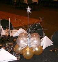 Table Cluster Glitter Star $18