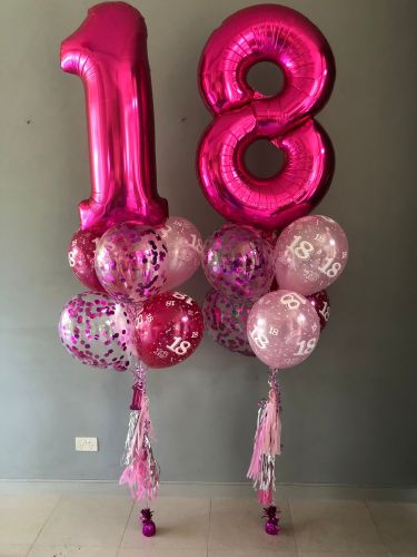 Balloon Numbers and Letters