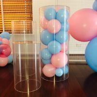 Plinth Hire (3) $150.  Add $45 for balloons inside.