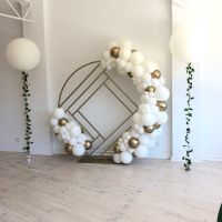 Organic Garland (inc Chrome) $90 per metre.  2 Foot with Vine Garland $55 ea