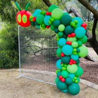Caterpillar garland $425
