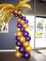 Palm Tree (purple and gold) $195