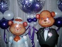 Air Walker Bridal Bears $88
