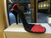 Shoe Sculpture $175