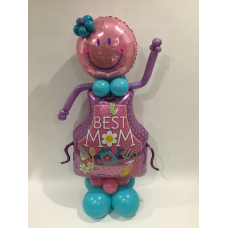 At Balloon Brilliance We Like To Add Something Interesting The Base Of Your Helium Bouquet That Is Be Delivered Such As A Mini