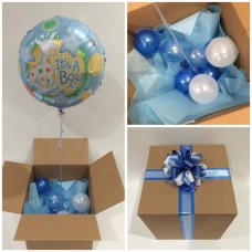 Its a Boy Balloon in a Box Pastel