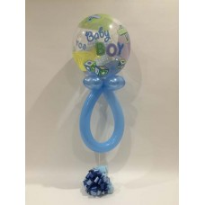 Its a Boy Bubble Rattle