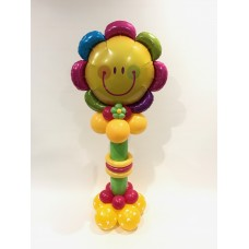 Smiling Flower Pedestal