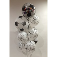 Soccer Bubble Foil and Latex